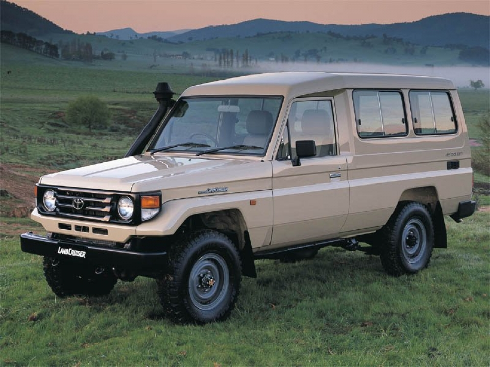 Toyota Land Cruiser Series 75 & 78