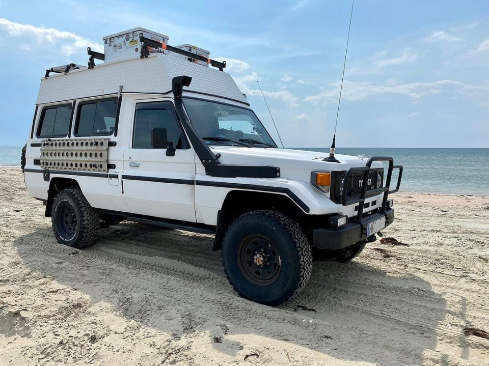 Toyota LC 75 78 Troopy